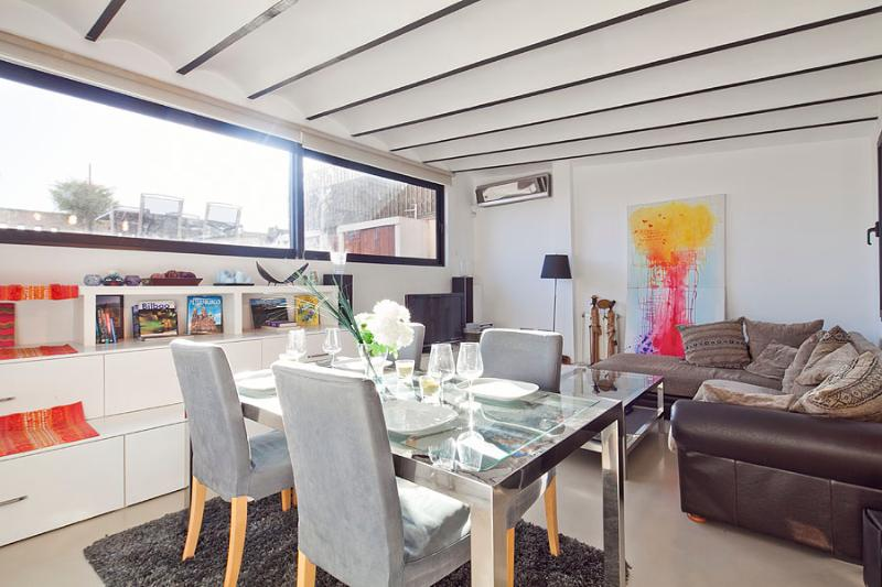 Dining Area - Picasso Penthouse with Terrace (2BR) - 15% OFF for Summer PROMOTION - Barcelona - rentals