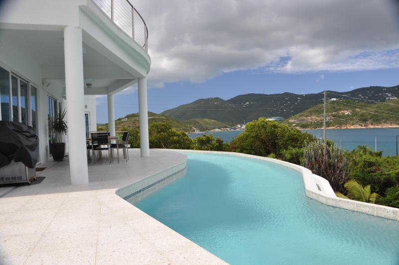Estate sized pool - Contemporary Waterfront Luxury Estate - Water Island - rentals