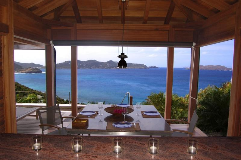 Bali at Pointe Milou, St. Barth - Ocean View, Amazing Sunset Views, Covered Pool - Image 1 - Pointe Milou - rentals