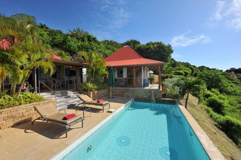 Hurakan at Colombier, St. Barth - Ocean View, Amazing Sunset Views, Very Private - Image 1 - Colombier - rentals