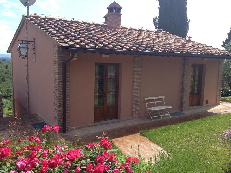 The house, north view - Converted Barn Vacation Rental in Tuscany - Certaldo - rentals