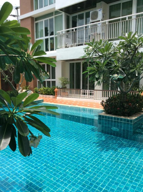 View of apartment from pool - Two bedroom poolside condo Bophut - Bophut - rentals