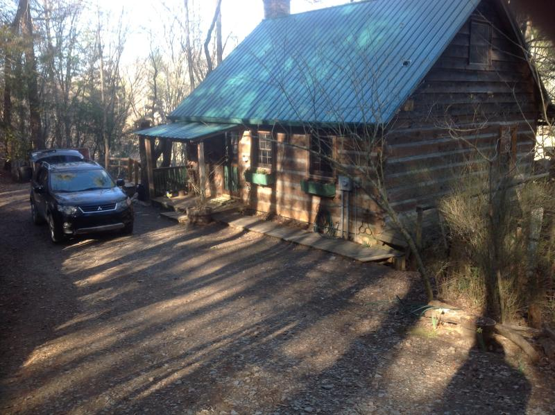 Parking Area - Cabin on White Water Toccoa River! - Blue Ridge - rentals