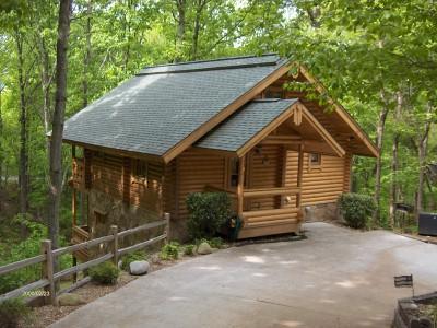 1 BR + Loft Old Glory Cabin - Image 1 - Gatlinburg - rentals