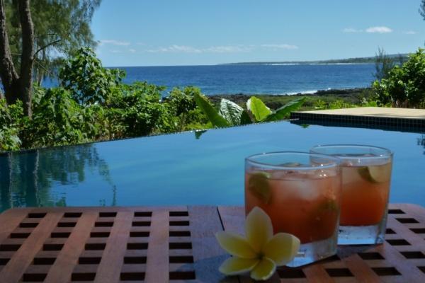 Pool and Ocean Views - Oceanfront Villas - Port Vila - rentals