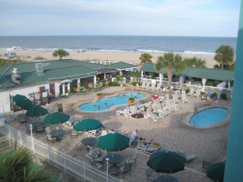 Beautiful Views from Balcony and Living Area - Amazing Beach/Oceanside Condo! Pools! Restaurant! - Tybee Island - rentals