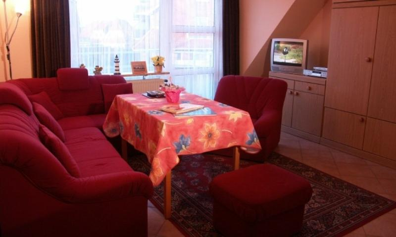 Living Room (1) - Vacation Apartments in Büsum - 431 sqft, peaceful, relaxing (# 3549) - Büsum - rentals