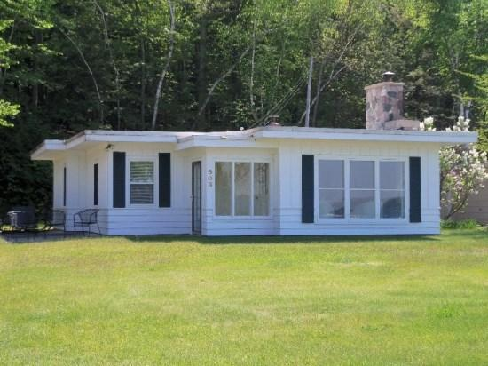 Front View - Well Maintained Home on Crystal Lake`s South Shore - Frankfort - rentals