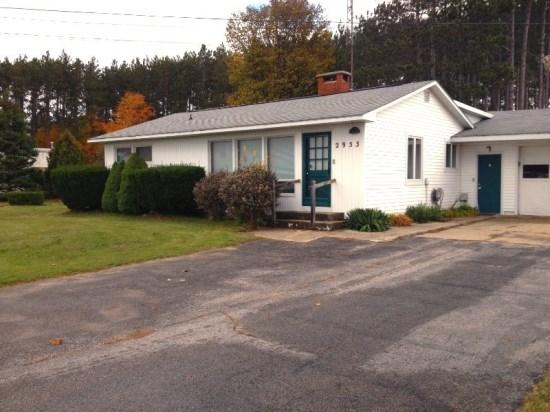 Front View - Huge Vacation Home Available Year Round! - Benzonia - rentals