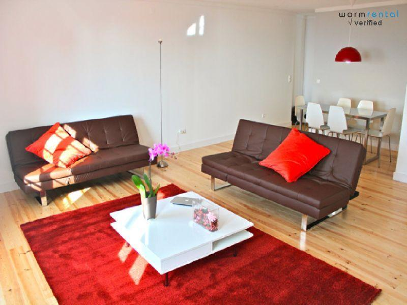 Living Room  - Wasabi Red Apartment - Lisbon - rentals