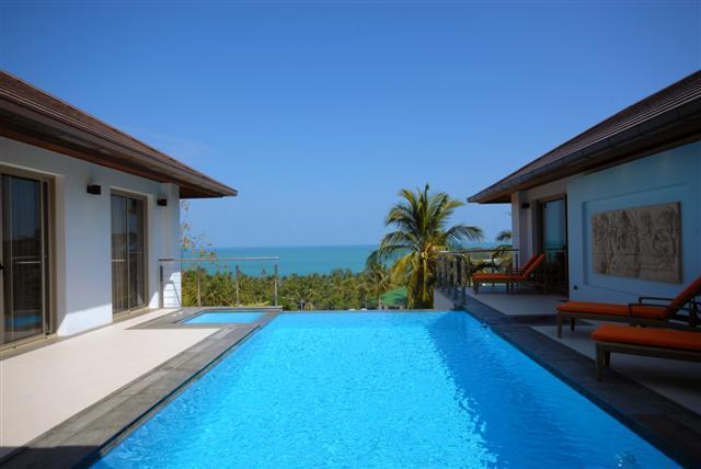 Villa Ganesh - Stunning 3 Bedroom Sea View Villa - Image 1 - Koh Samui - rentals