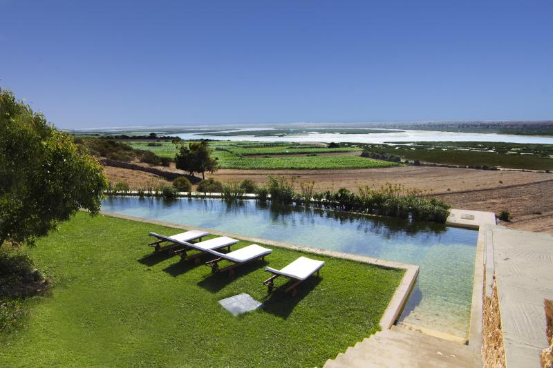 Natural swimming pool and view, Lagoon Lodge, Oualidia - Ocean-view, luxurious, private home in Morocco. - Oualidia - rentals