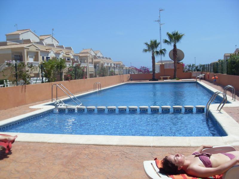 pool area - 2 Bed Ground Floor  Apartment Los Altos,Torrevieja Costa Blanca. - Orihuela - rentals