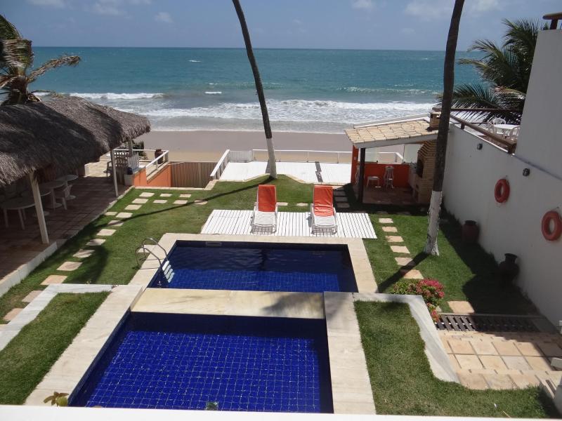 vista das piscina - Village De Buzios, Lindo Chalé Beira Mar, Natal - Natal - rentals