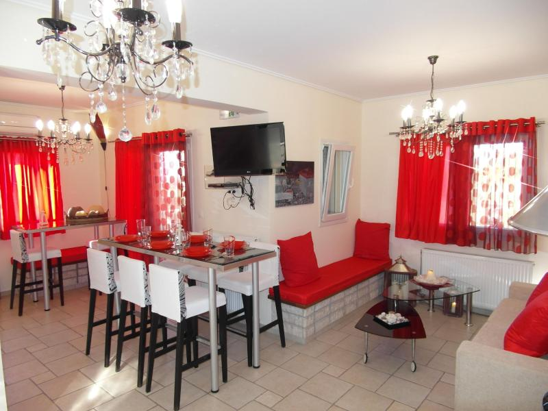 red passion - Private brand new pool villa great view near beach - Agios Nikitas - rentals