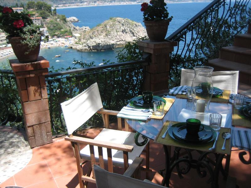 Outdoor Dining area - Taormina Sicily by the sea 2+2 - Taormina - rentals