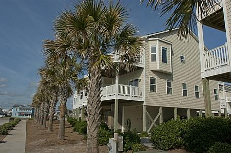 Sea Star 212 Exterior - Breeze In, 212 Sea Star Circle, SAVE UP TO $250 - Surf City - rentals