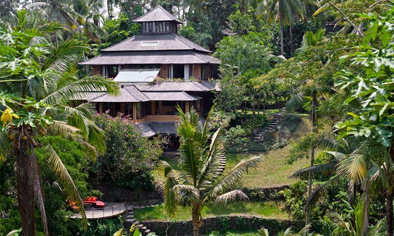 View to the villa Pelangi - Unique River side villa Pelangi.3,4 or 5 BDR - Ubud - rentals