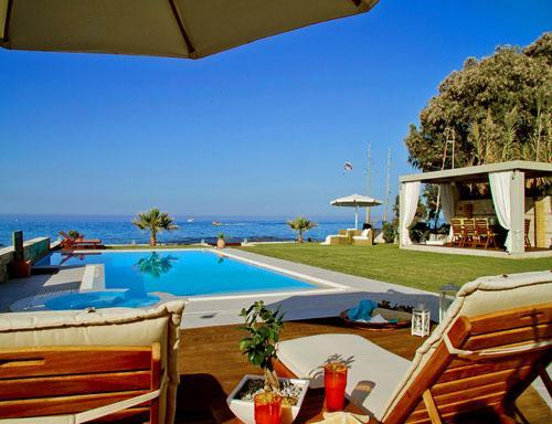 Villa Diamond - Superb villa located on the Sea! - Image 1 - Hersonissos - rentals