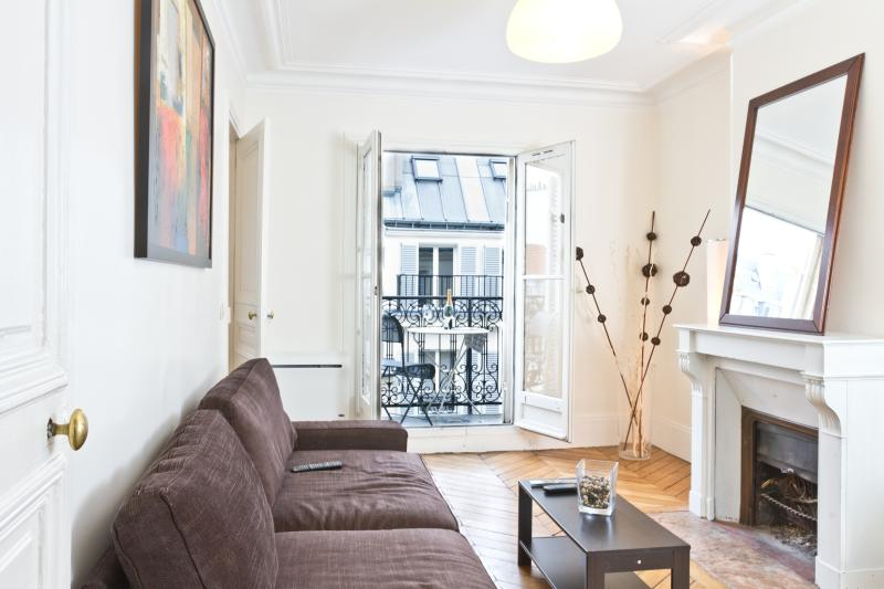 Bright and Sunny Living Room - 16. STEPS TO NOTRE DAME-RIVER SEINE-HEART OF PARIS - Paris - rentals