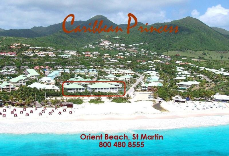 Caribbean Princess B2, Orient Beach, St Martin 800 480 8555 - Caribbean Princess B2... ground floor 2 bedroom beachfront unit with private yard, perfect for small family or 2 couples - Saint Martin-Sint Maarten - rentals