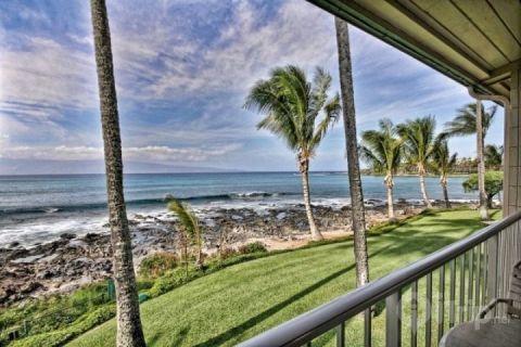 Napili Shores oceanfront I building. - Highly Desirable Napili Shores Resort - I Building Oceanfront Studio - Napili-Honokowai - rentals