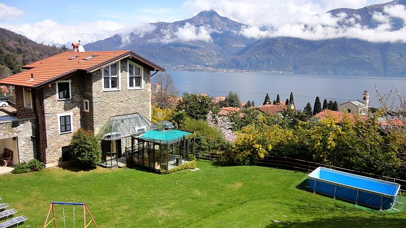 Holiday villa Emma in Santa Maria Rezzonico San Siro 'Emma', Lake Como Italy - Cosy family-friendly villa with pool and lakeview - San Siro - rentals