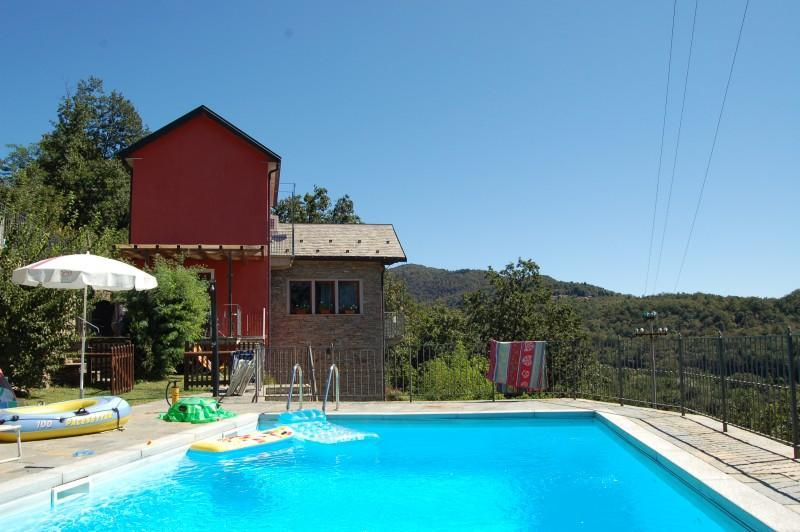 Holiday villa with pool Verbania, Lake Maggiore Italy - Peaceful private villa with swimming pool - San Bernardino Verbano - rentals