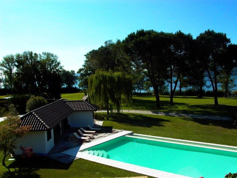 Luxury holiday villa Lesa, Lake Maggiore, Italy rental - Luxury estate with pool, golf, tennis and boats! - Lesa - rentals