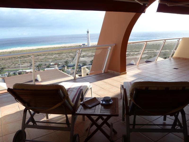 terrace - Exclusive apartment in Jandia beach, Fuerteventura - Morro del Jable - rentals