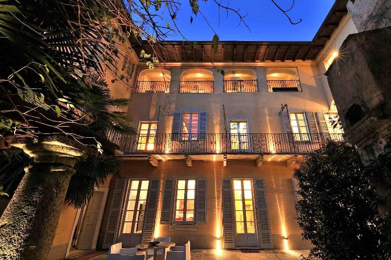 Facade - 17th Century Mansion, garden and SPA on Lake Orta - Orta San Giulio - rentals