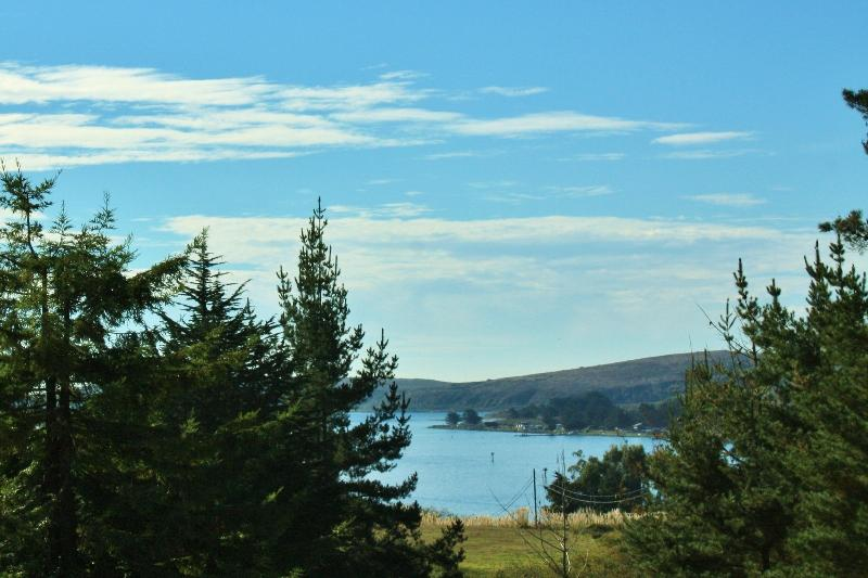 Bodega Bay View from Bedroom - 'Bay View' From Charming 5 Star Home W/Yard - Spa! - Bodega Bay - rentals