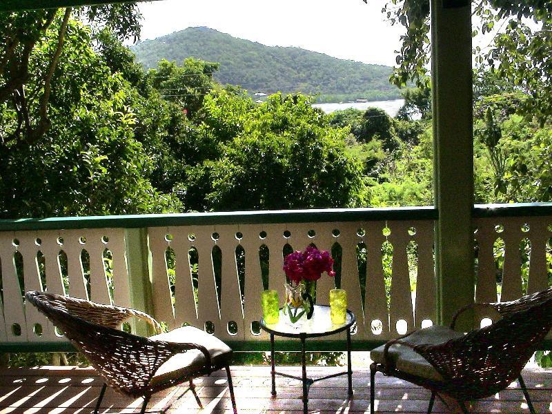 Covered Veranda - Cactus Flower Cottage- 1 Bedroom Peaceful Retreat - Saint John - rentals