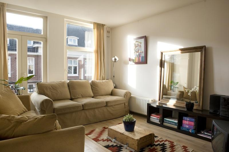 the living room, cozy and bright - Westerpark Suite - Amsterdam - rentals