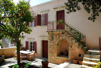 Front view of Villa - Traditional/Neo Classical Cretan Stone House - Heraklion - rentals