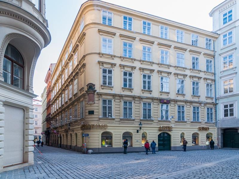 Our building in the middle of a pedestrian-only zone - Adagio - Elegant 2-bedroom flat near Stephansplatz - Vienna - rentals