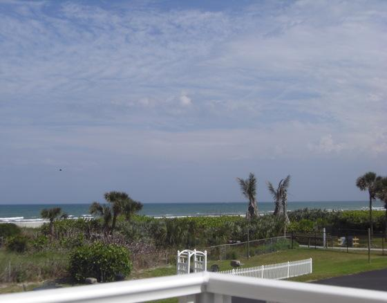 Ocean View from the Balcony - Perfect Condo -  Tastefully Decorated, Great View! - Cape Canaveral - rentals