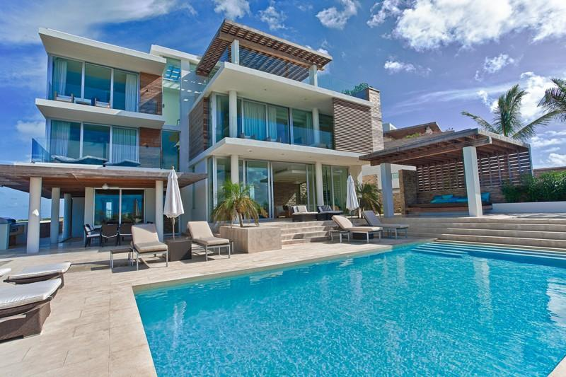 Ani North at Little Bay, Anguilla - Ocean View, Amazing Sunset Views, Stair Atrium With Massive Skyl - Image 1 - Crocus Hill - rentals
