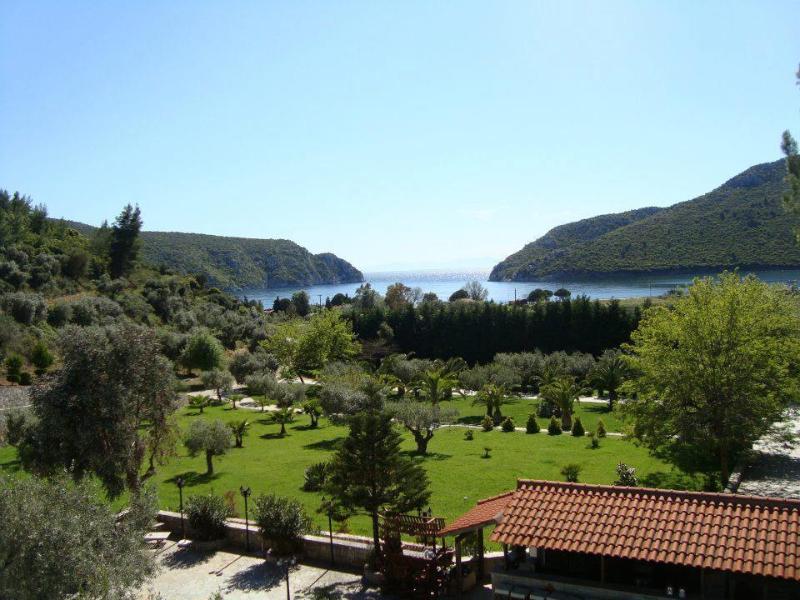 View from the living room balcony - Porto Koufo Resort,Halkidiki - Camelia apartment - Porto Koufo - rentals