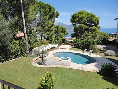 New! 3BD/2.5BA heated pool garden seaview parking - Image 1 - Saint-Jean-Cap-Ferrat - rentals