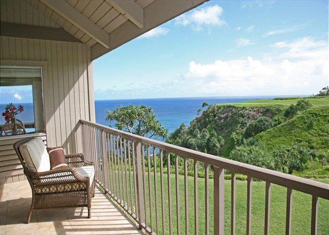 10% off May Dates!  Breathtaking Ocean Views - Pali Ke Kua 233 - Image 1 - Princeville - rentals