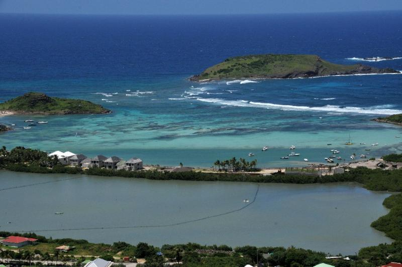 Casa Azul at Vitet, St. Barth - Panoramic View of Ocean and Lagoon, Fully Air-Conditioned - Image 1 - Vitet - rentals