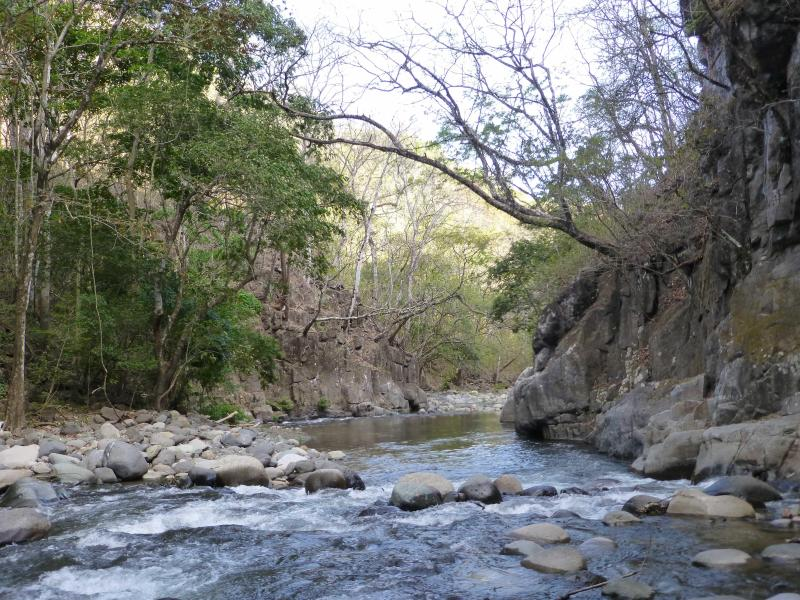Awe-inspiring cliffs, deep pools, shallow rapids serving as a natural spa - Rancho el Rio-A Natural Paradise/Farm Combination - Monteverde Cloud Forest Reserve - rentals