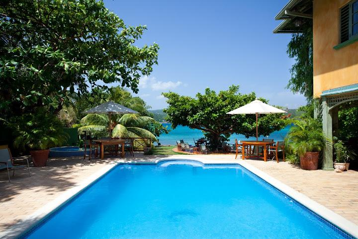 PARADISE  PKW - 99793 - PICTURESQUE | 6 BED | BEACHFRONT VILLA | WITH POOL - DISCOVERY BAY - Image 1 - Discovery Bay - rentals