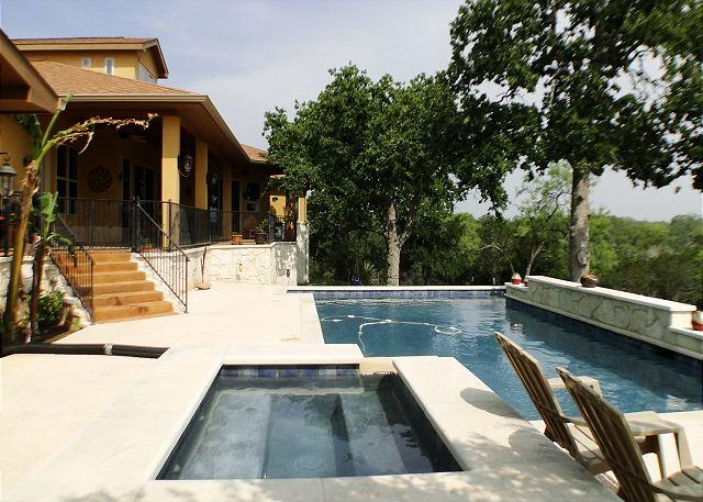 Lay by the pool all day & night - Private 26 Acre Hill Country Ranch- Bring your Bathing Suits & 4-Wheelers! - Spicewood - rentals