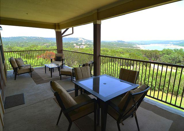 View from Balcony - Beautiful Condo with Amazing Views and Great Resort Amenities! - Jonestown - rentals