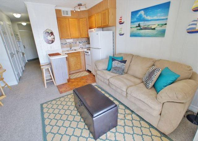 Quaint & affordable 1 bedroom beach view condo! - Image 1 - Galveston - rentals