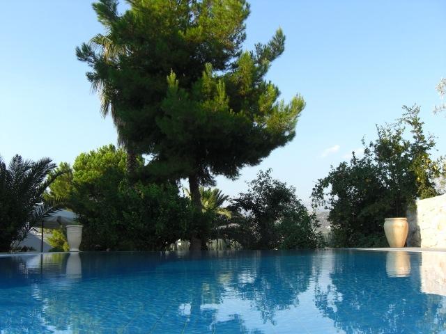 Pool @ Villa Orestes - Villa Orestes @ Exostis the balcony of Nafplion - Nauplion - rentals