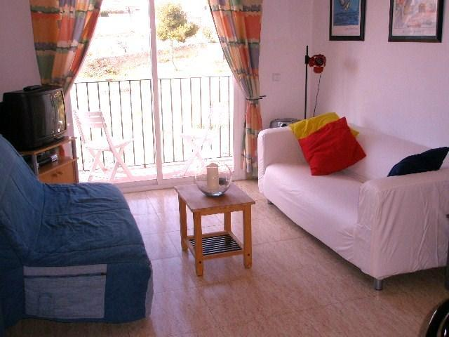 Lounge - Sunny modern 2 bedroom apartment in Sitges centre - Sitges - rentals