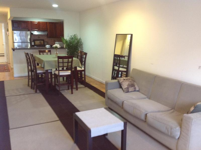 Furnished living room - Affordable Luxury 3BR - 2 FULL BATH - Rent the entire apt! - Brooklyn - rentals